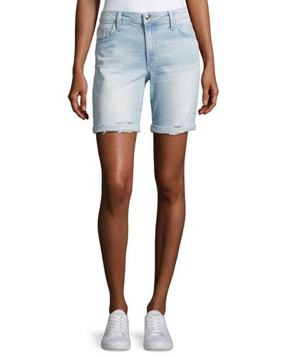 Finn Bermuda Denim Shorts, Indigo