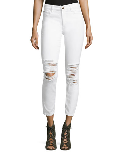 The Icon Ankle Jeans, White