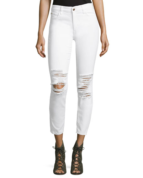Joe's Jeans The Icon Ankle Jeans, White