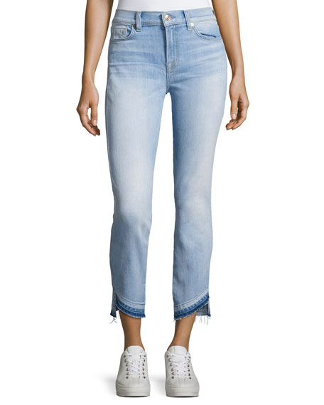 7 For All Mankind Roxanne Ankle Jeans W/
