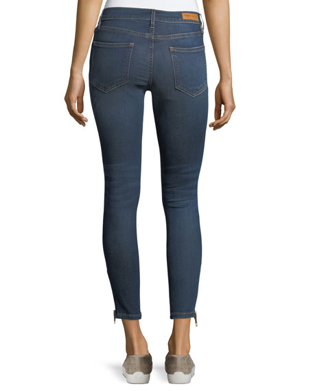 Naomi Mid-Rise Skinny Cropped Jeans