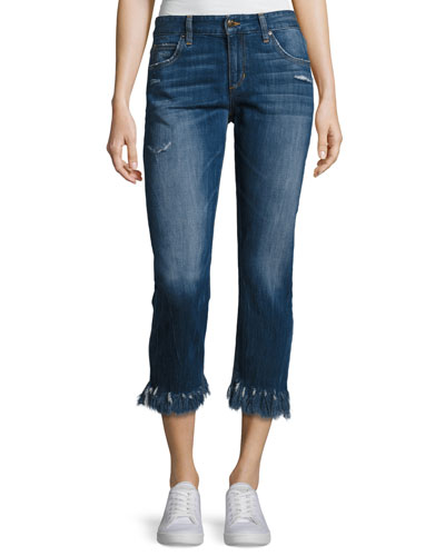 The Ex-Lover Crop Jeans, Indigo
