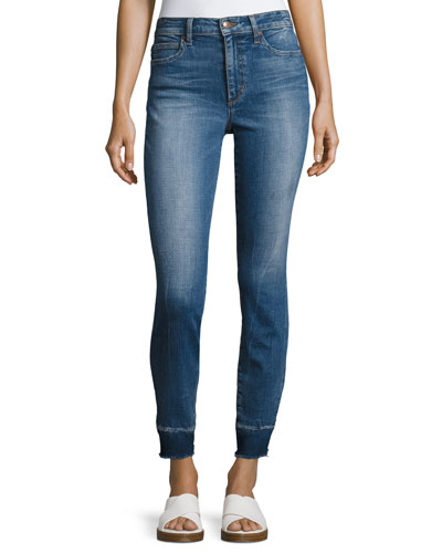 The Charlie Crop Skinny Jeans, Indigo
