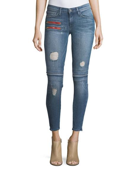 Etienne Marcel Gigi Low-Rise Skinny Denim Jeans w/