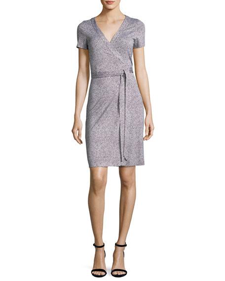 Diane von Furstenberg New Julian Two Silk Short-Sleeve