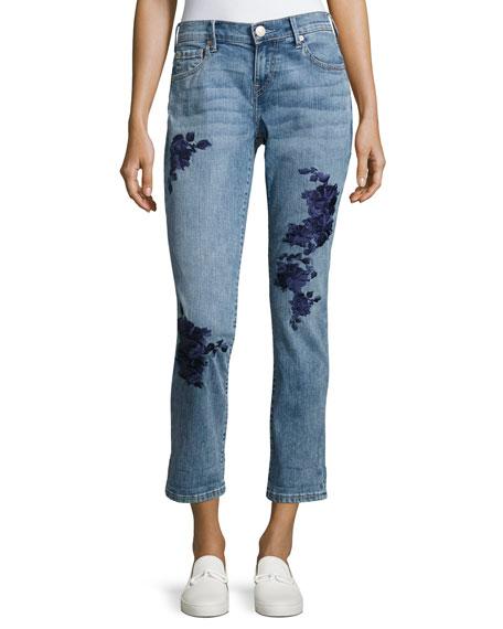 True Religion Cameron Slim Boyfriend Jeans, Indigo