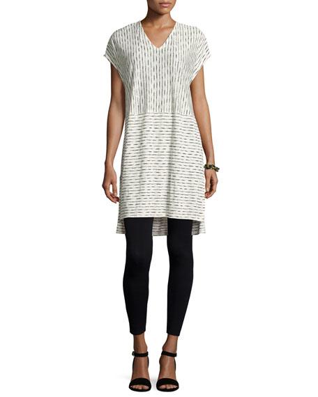 Eileen Fisher Painterly Organic Linen Tunic