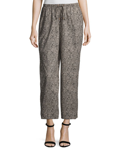 Women's Cropped Pants at Neiman Marcus