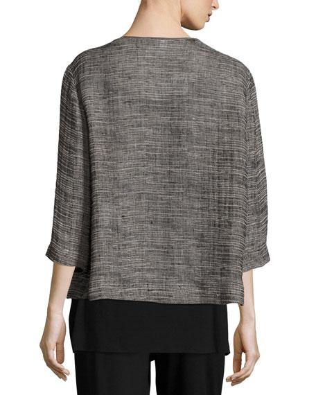 Strata Kimono 3/4-Sleeve Jacket