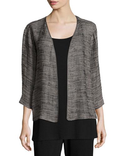 Strata Kimono 3/4-Sleeve Jacket, Petite