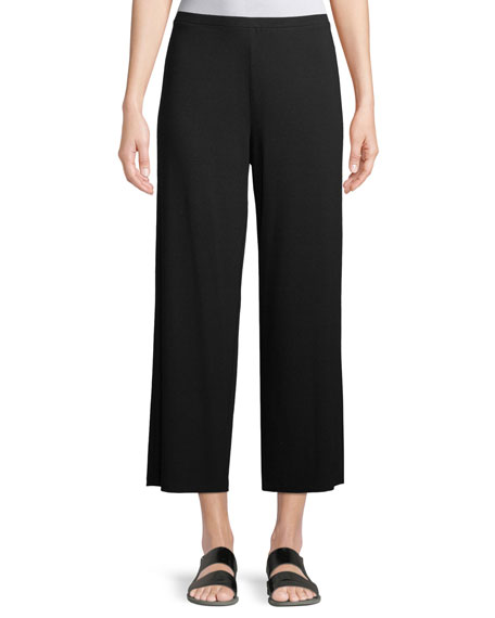 Eileen Fisher Easy Jersey Cropped Pants