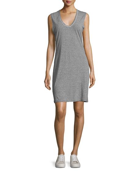 Ryder Stripe Linen Dress, Multipattern