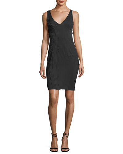 Tinsley Sleeveless Laced Bodycon Cocktail Dress