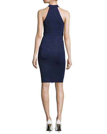 Alix Halter Sheath Dress