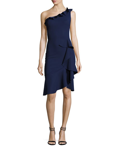 Chiara Boni La Petite Robe Cornelie One-Shoulder Ruffled