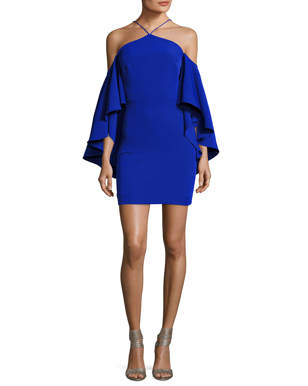Milly chelsea cady cocktail dress cobalt neiman marcus ombrellifo Image collections