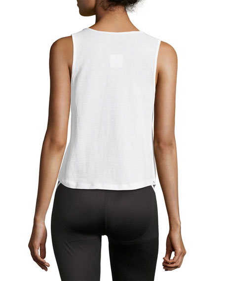 Summer Performance Tank Top, White