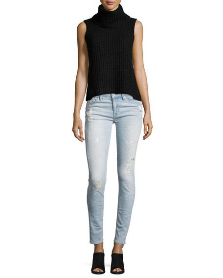 Nico Mid-Rise Super Skinny Jeans, Indigo