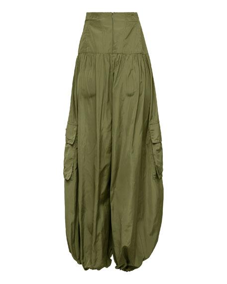 Corset Genie Pants, Green