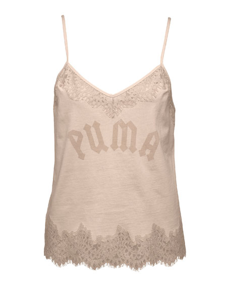 Fenty Puma by Rihanna Lace-Trim Sleepwear Camisole Top,