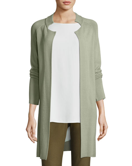 Eileen Fisher Sleek Tencel Knit Jacket