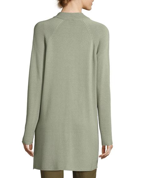 Sleek Tencel Knit Jacket, Plus Size