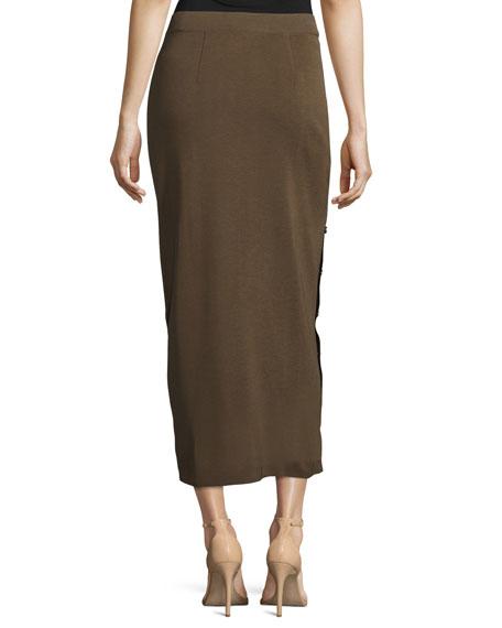 Knit Midi Skirt, Hazel, Plus Size
