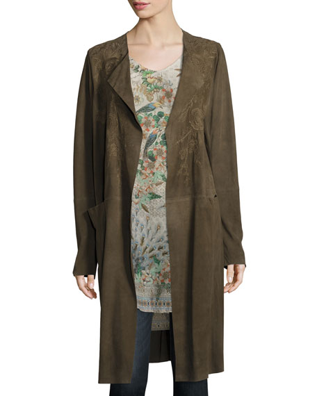 Johnny Was Ficher Printed Georgette Blouse and Matching