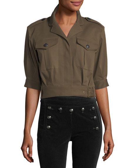 Fleet Short-Sleeve Military Jacket