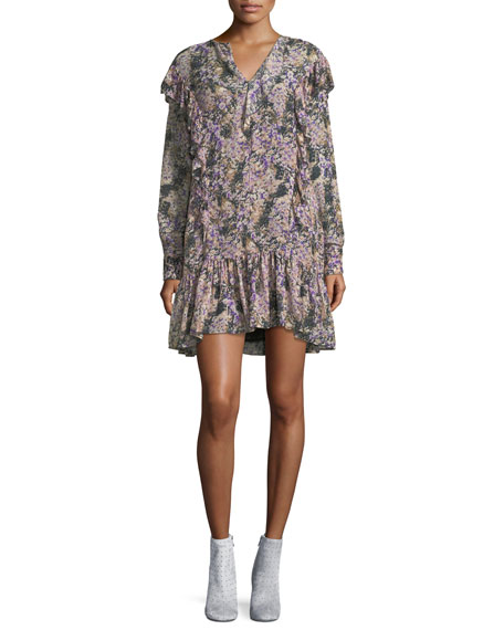 Etoile Isabel Marant Jedy Floral-Printed Cotton Dress