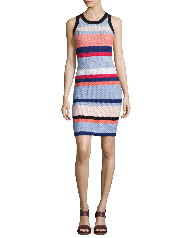 17d8d0a8e135 Quick Look. Parker · Josephina Sleeveless Knit Mini Dress ...