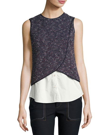 Derek Lam 10 Crosby 2-In-1 Tank Top Combo,