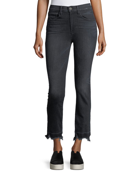 3x1 Shelter Straight-Leg Crop Jeans