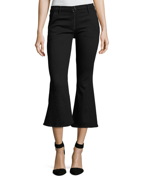 FRAME Le Crop Bell Pants, Black and Matching