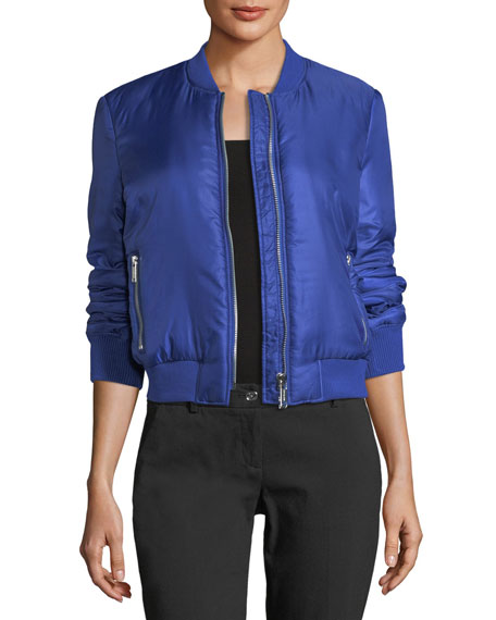 MICHAEL Michael Kors Lightweight Packable Bomber Jacket