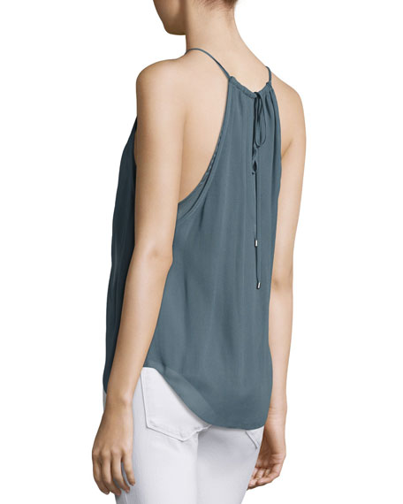 The Dreamer Chiffon Cami Top, Gray