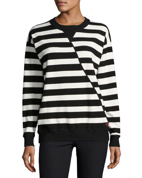 GREY by Jason Wu Oversized Striped Sweater