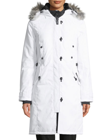Kensington Parka Coat w/ Coyote Fur Trim