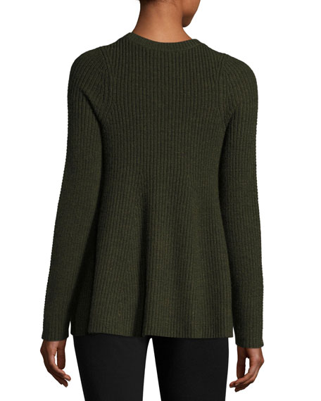 Merino Wool Trapeze Sweater
