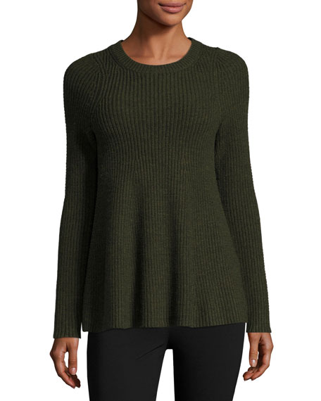 GREY by Jason Wu Merino Wool Trapeze Sweater