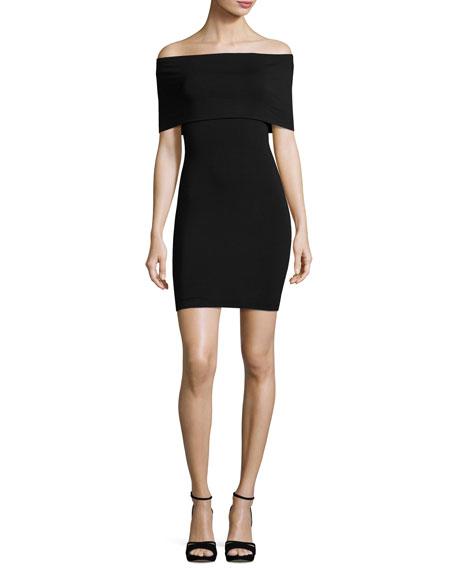 Bailey 44 Hot Doggin Popover Body-Con Dress, Black