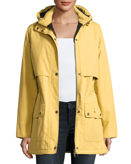 Stratus Hooded Utility Jacket, Gold