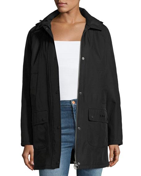Whirl Water-Resistant Jacket, Black
