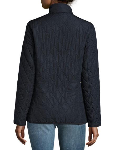 Combe Polar-Quilt Utility Jacket, Navy