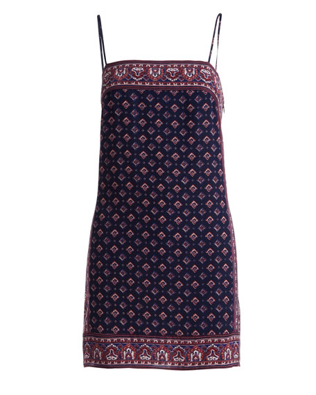 Adryel Sleeveless Printed Slip Dress