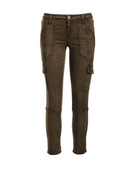Okana Skinny Cargo Pants, Fatigue