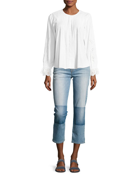 Josalind High-Rise Straight Leg Jeans
