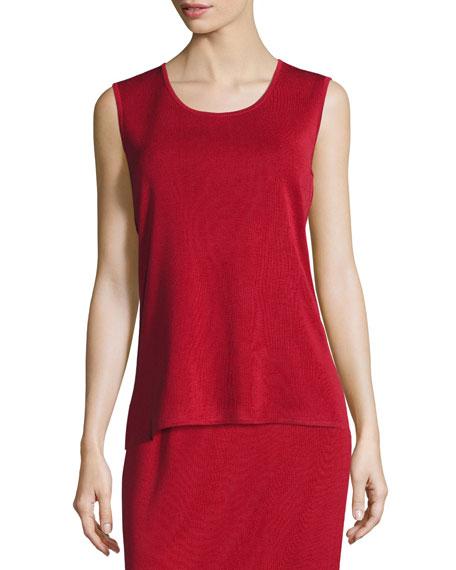 Misook Scoop-Neck Sleeveless Knit Tank, Plus Size