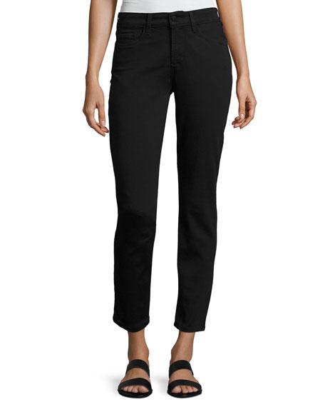 NYDJ Clarissa Twill Ankle Pants, Black