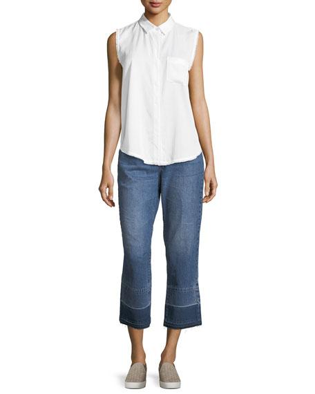 Patti Straight-Leg Denim Jeans